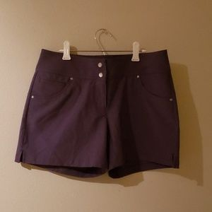 Dark Grey Women's Golf Shorts